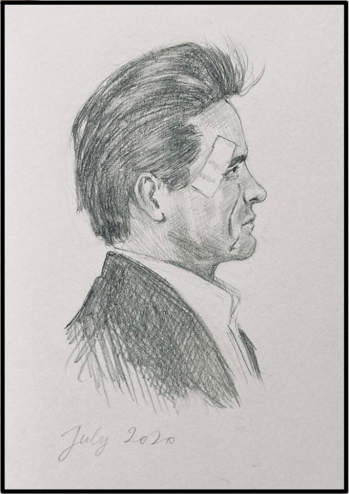 Johnny Cash by brocklesnarsneck